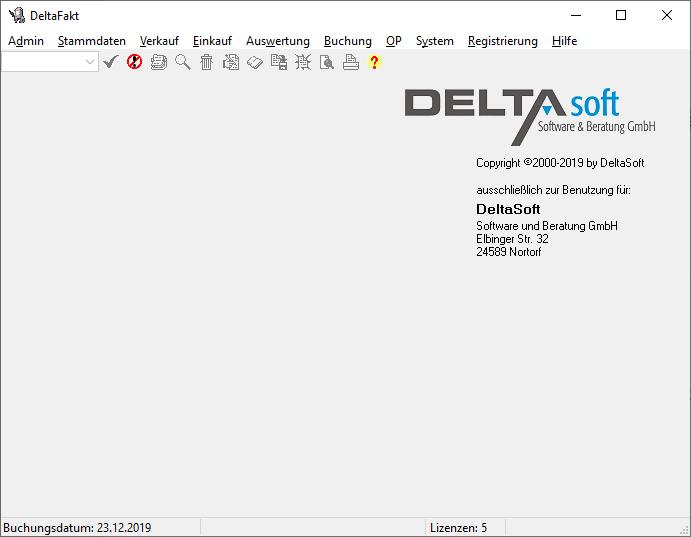 DeltaFakt_Screenshot_Main